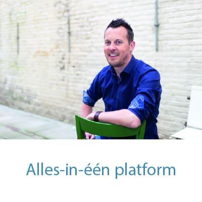 Alles-in-één platform. Online Cursus Websites