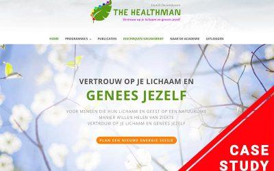 Hoe een online cursus het leven van 'The Healthman' veranderde (Case studie)