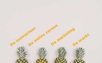 4 onderdelen die je nodig hebt om succesvol te zijn met je online cursus