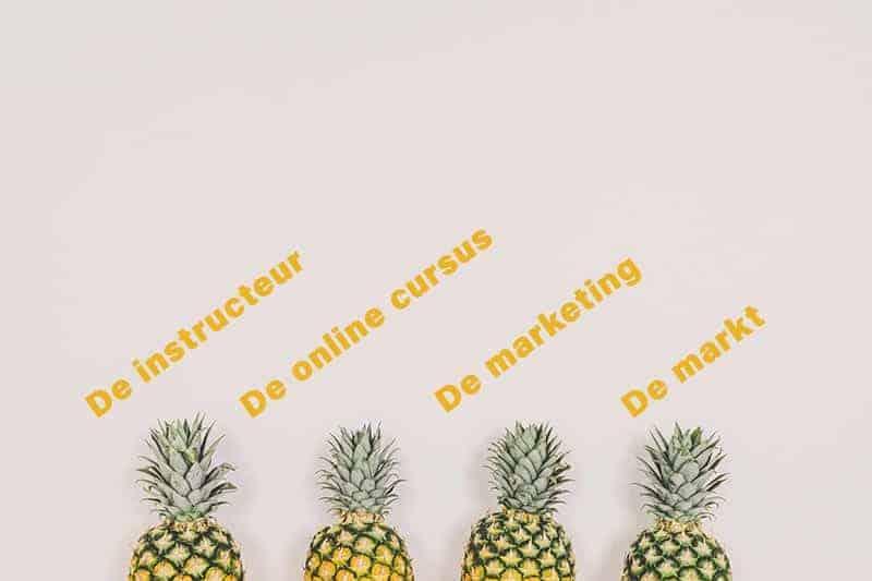 4 onderdelen voor een succesvolle online cursus