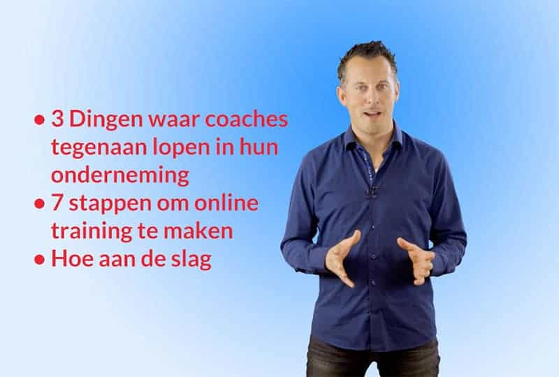 Zelf voor-de-camera in je online cursus video's