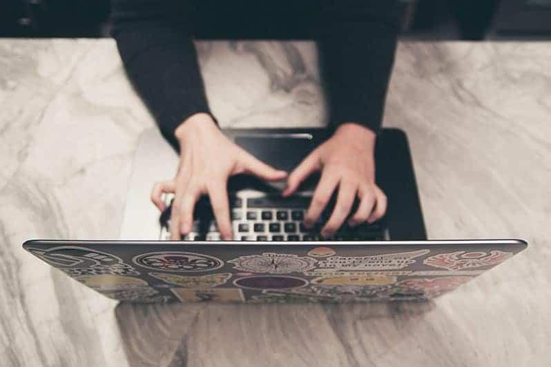 een online cursus les opbouwen